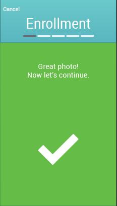 Mobile App Screen - Success
